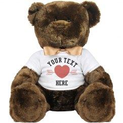 Custom Teddy Bear Gift
