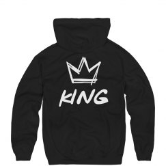 Graffiti King & Queen Hoodies 1