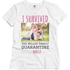 Custom Quarantine Survival Family Photo