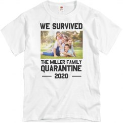Custom Photo Survived Quarantine 2020