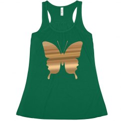 Easter butterfly tank top.