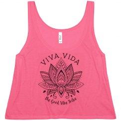 Viva Vida Crop Tank