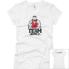 Slim ladies t-shirt nunez