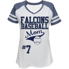 Falcons Baseball Mom
