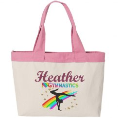 Custom Gymnast Tote Bag