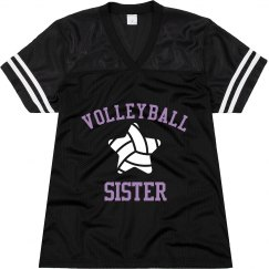 Volleyball Sister Jersey