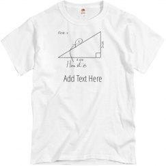 Custom Math Teacher Gift