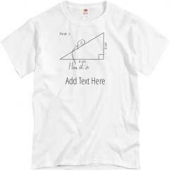 Custom Math Teacher Gift