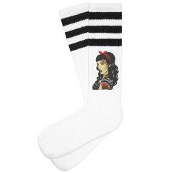 SCSQ Derby Girl Socks