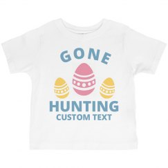 Customizable Easter Toddler Tee