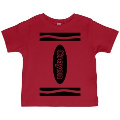 Red Crayon Kids Costume