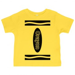 Yellow Crayon Costume