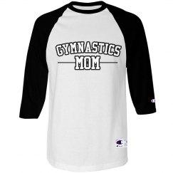 Gymnastics Mom Team Text