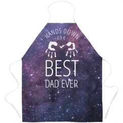 Best Dad Outer Space Design