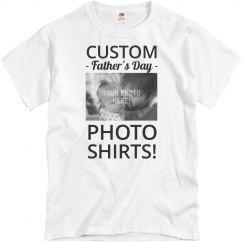 ab38b7f0 Custom Dads Fishing Co Design Unisex Basic Promo T-Shirt