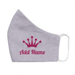 Custom Princess Add Name Crown