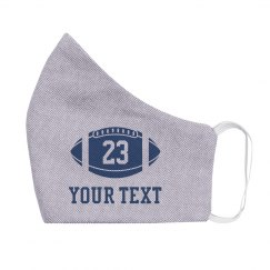 Personalized Name & Number Football
