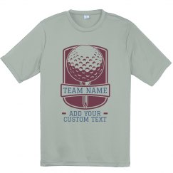 Custom Spring Golf Performance Tee