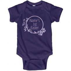 Babys First Easter Custom Name