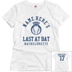 The Baseball Bachelorette Bride to Be
