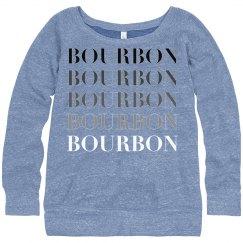 Bourbon Sweatshirt Women's Blue Triblend