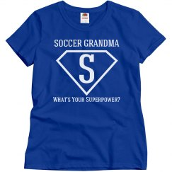 I'm a Soccer Grandma