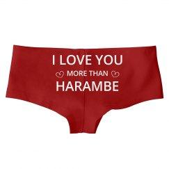 Valentine's Love For Harambe