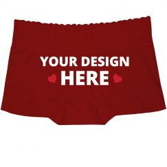 Cute Custom Lace Boyshorts Gift
