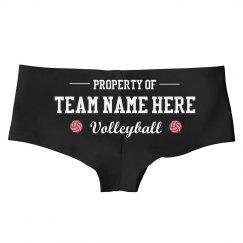 Custom Property Of Volleyball