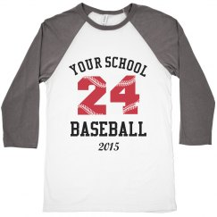 Baseball Lace Numbers