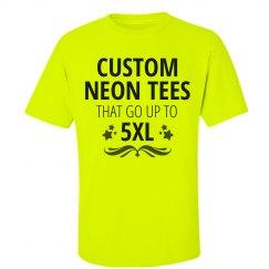 Custom 5XL Neon Shirts
