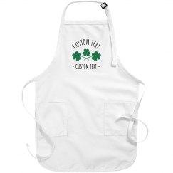 Customizable St. Patrick's Day Aprons