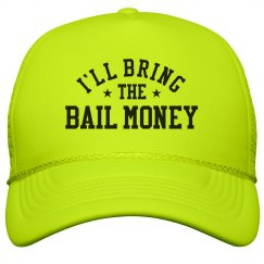 Bachelorette Hats Bail Money