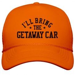 Bachelorette Hats Getaway Car