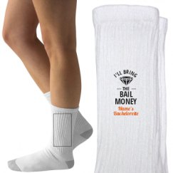 Ladies Hanes Crew Socks