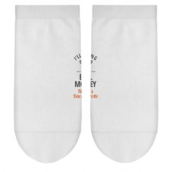 Ladies Hanes No-Show Ankle Socks