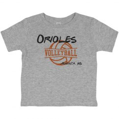 Orioles Volleyball Toddler