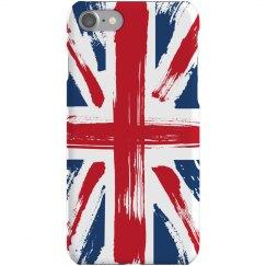 Painted UK Flag Case