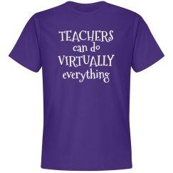 Teachers can do Virtually everything