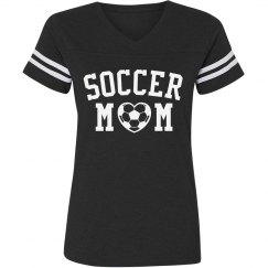 Soccer Mom Striped Shirt