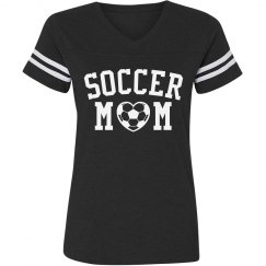 Soccer Mom Striped Shirt
