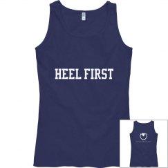 Heel First tank