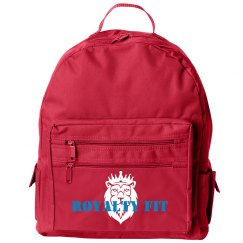 Royalty Fit Black Backpack