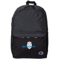 Royalty Fit Black Backpack