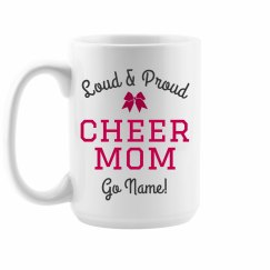Custom Cheer Mom Gift