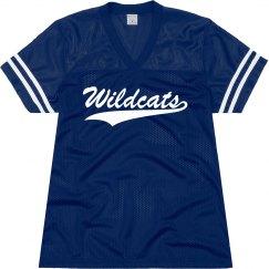 Wildcats shirt.