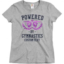 Custom Powered By Gymnastics Design