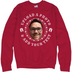 Custom Photo Ugly Christmas Sweater
