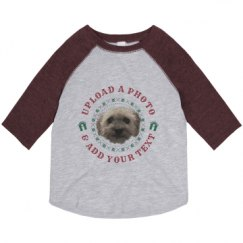 Toddler Vintage 3/4 Sleeve Raglan Tee