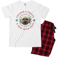 Custom Family Dog Matching Pajamas